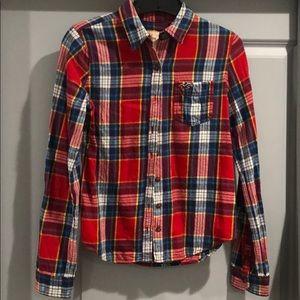 Hollister Flannel Plaid Shirt